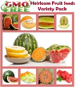 Fruit Pack- Variety of Fruit Seeds- Full Size Seed Packs